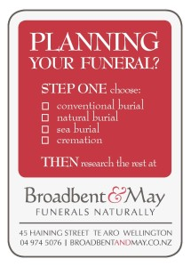 Planning your funeral - Step One