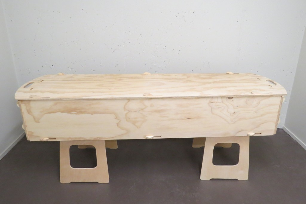 Plain Pine Box Broadbent May